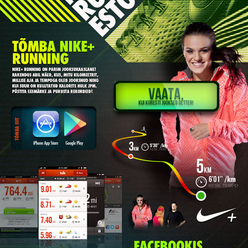 Nike Running Estonia kampaania