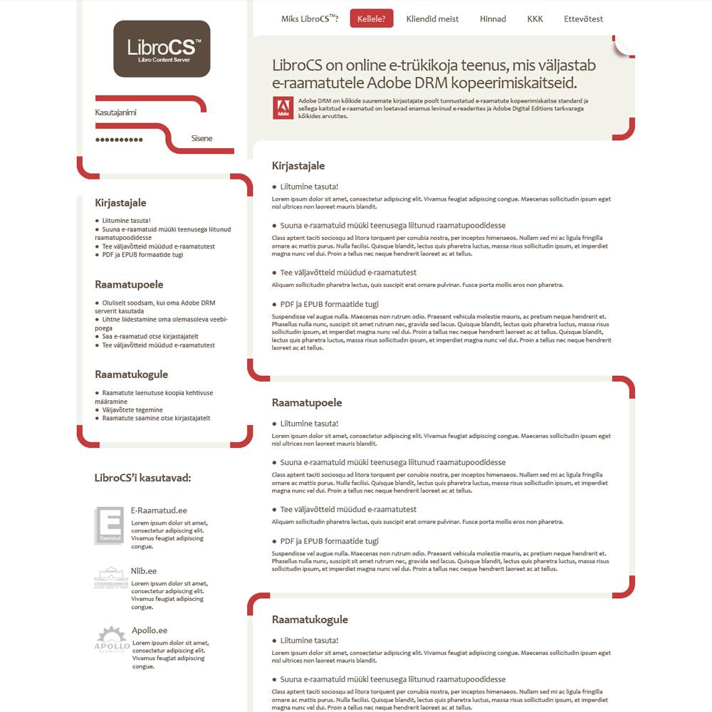 LibroCS veeb
